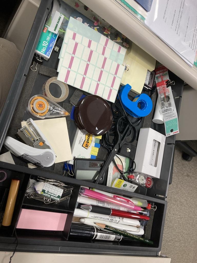 机の整理整頓が苦手なあなたに